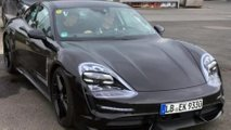 Porsche Taycan new spy photos