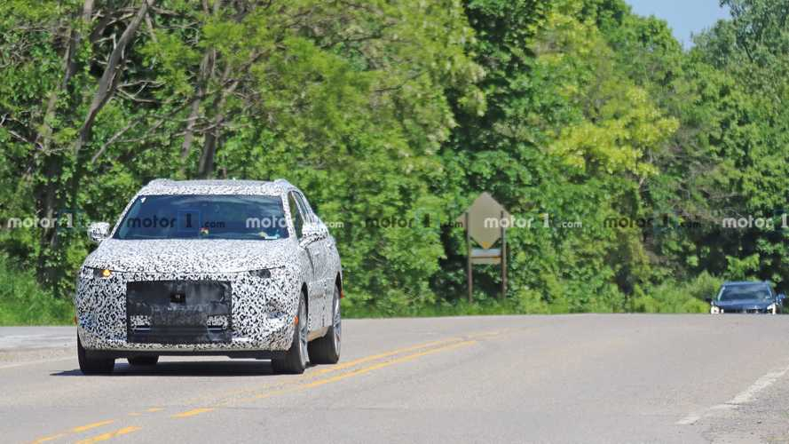 Buick Enspire Spy Photos