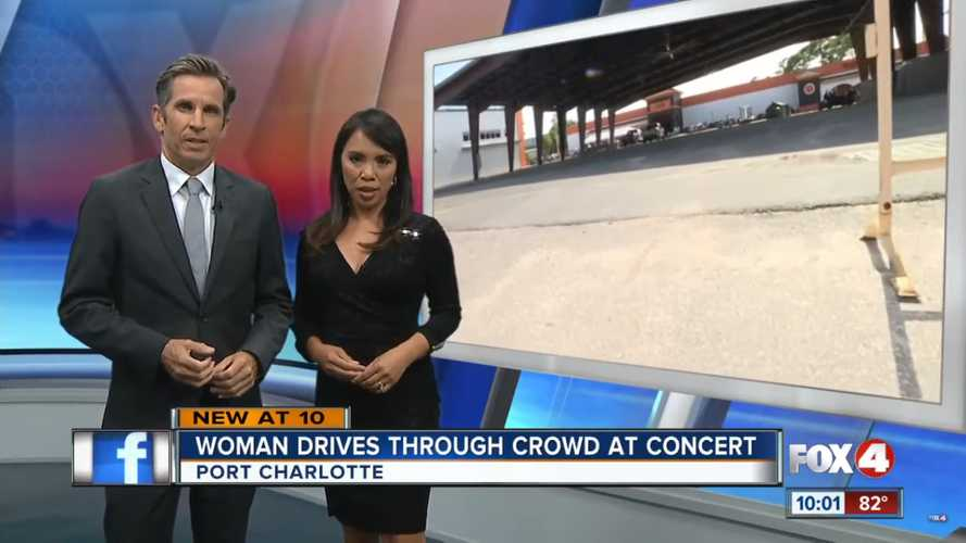 Florida Woman Plows Through Crowd At Harley-Davidson Concert