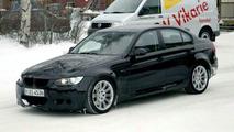 SPY PHOTOS: More BMW M3 Saloon