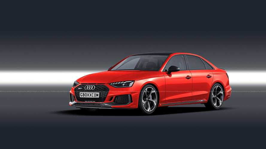 2020 Audi RS4 Saloon renderings