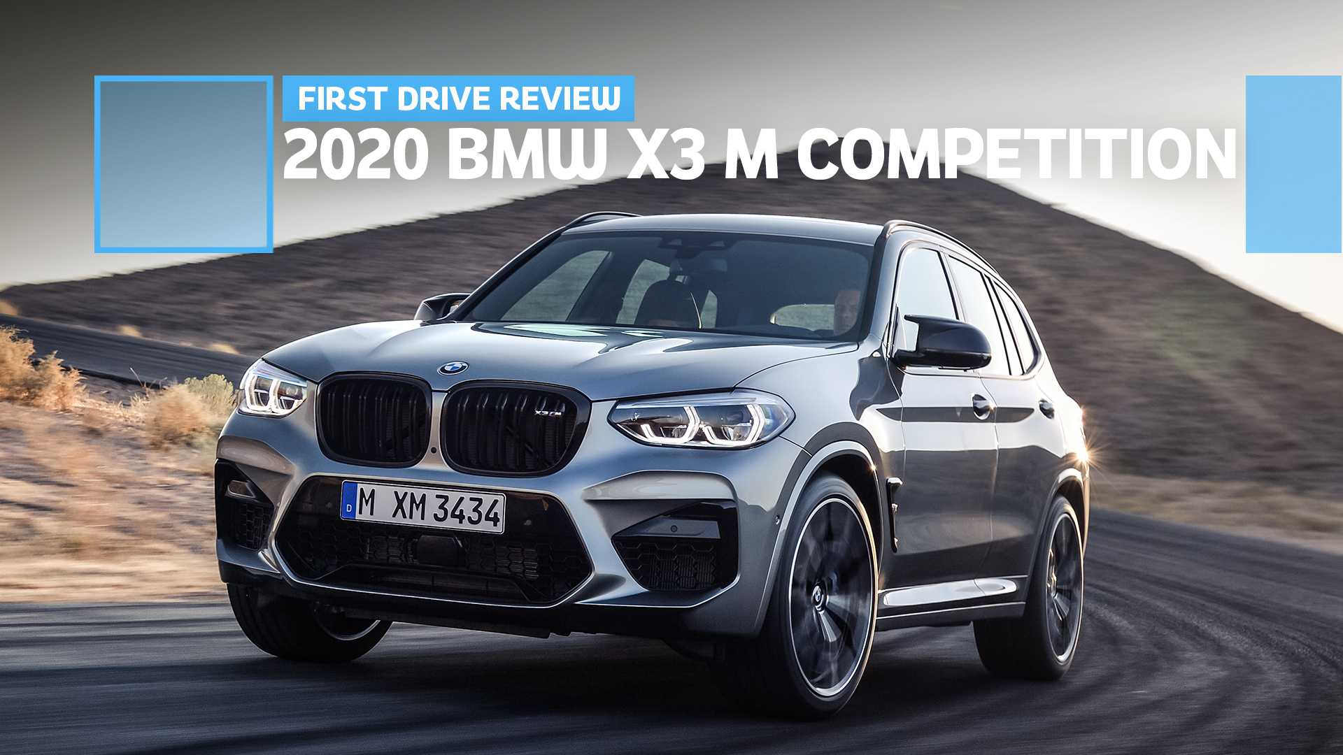 2020 Bmw X3 M Competition First Drive Worthy Of The Badge