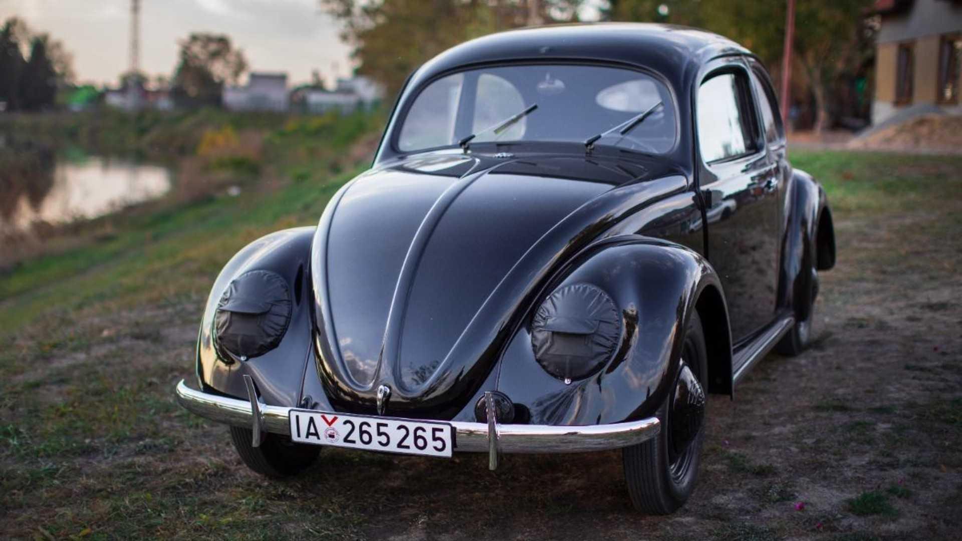 """[""""Oldest restored VW Beetle""""]"""
