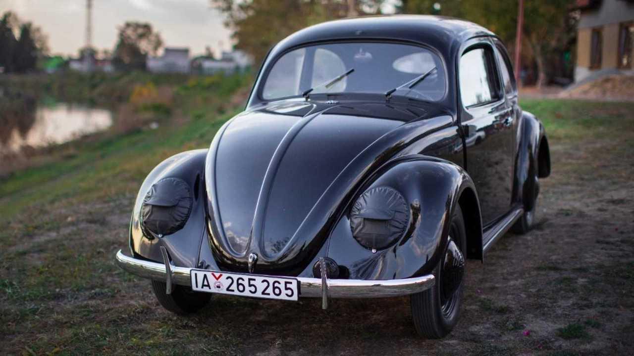 Oldest restored VW Beetle