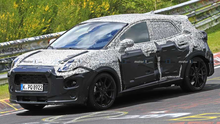 Sporty Ford Puma ST Spied For The First Time [UPDATE]
