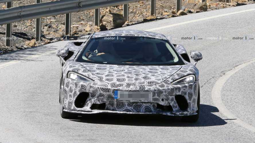 2019 McLaren GT casus fotoğraflar