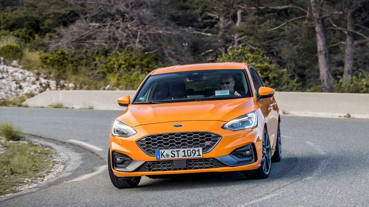 Ford Focus ST (2019) in test