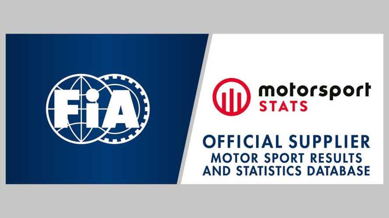 FIA MotorsportStats logos