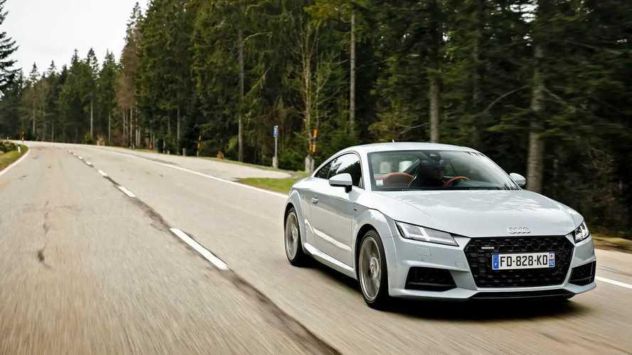 "Essai Audi TT ""20 years"""