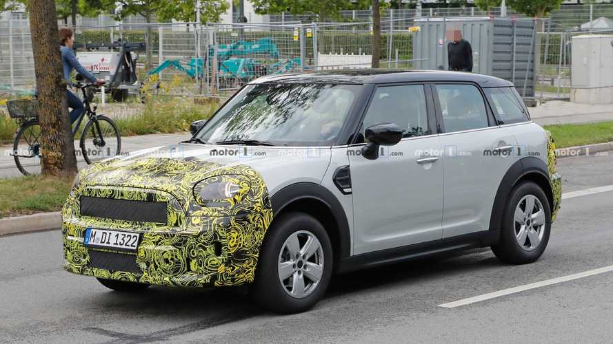 Mini Countryman Spied Hiding Minor Updates Front And Back