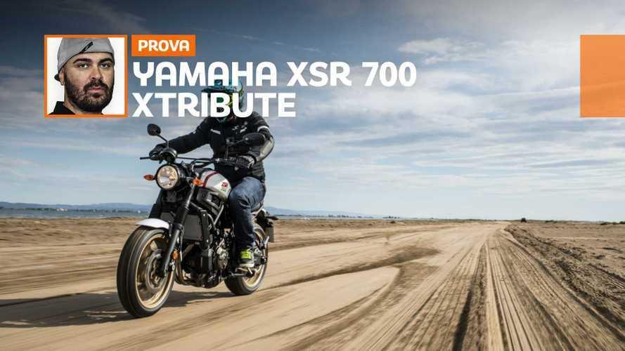 Yamaha XSR700 XTribute, la prova su strada