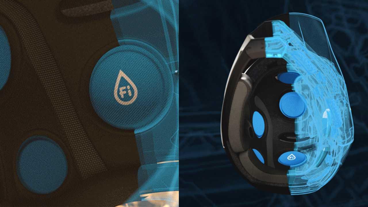 Helmet Technology Uses Fluid Instead Of Foam To Absorb Shocks