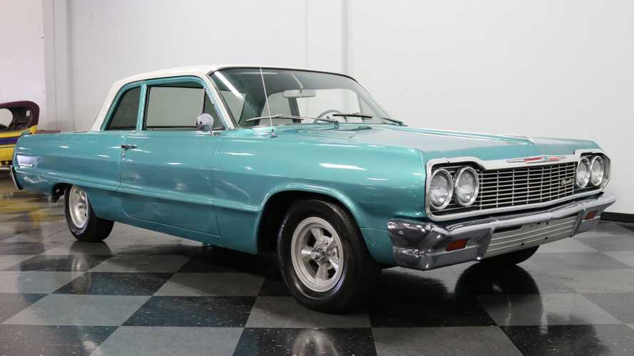 1964 Chevrolet Biscayne 2-Door Sedan Is A Beautiful Cruiser