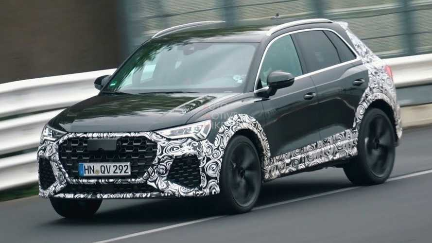 Audi RS Q3 spied exercising around the Nürburgring