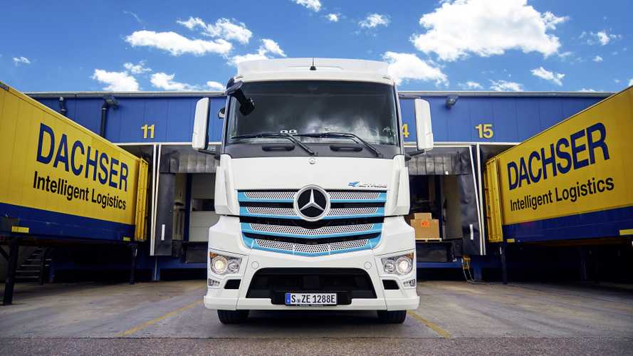 Mercedes-Benz eActros Dachser