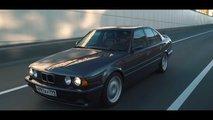 BMW M5 Generation Drag Race