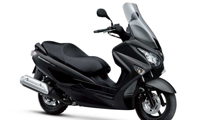 Recall: Suzuki Burgman 200 May Have Faulty CVT Drive Plate