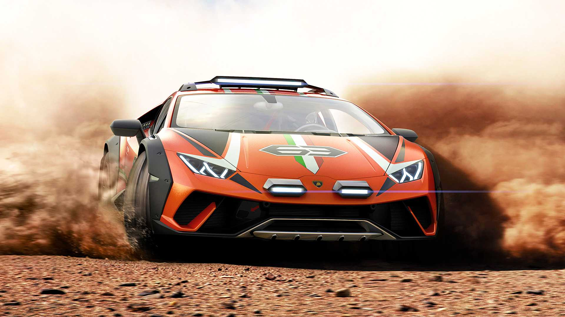 Off,Road Lamborghini Huracán Sterrato Is A One,Off Supercar