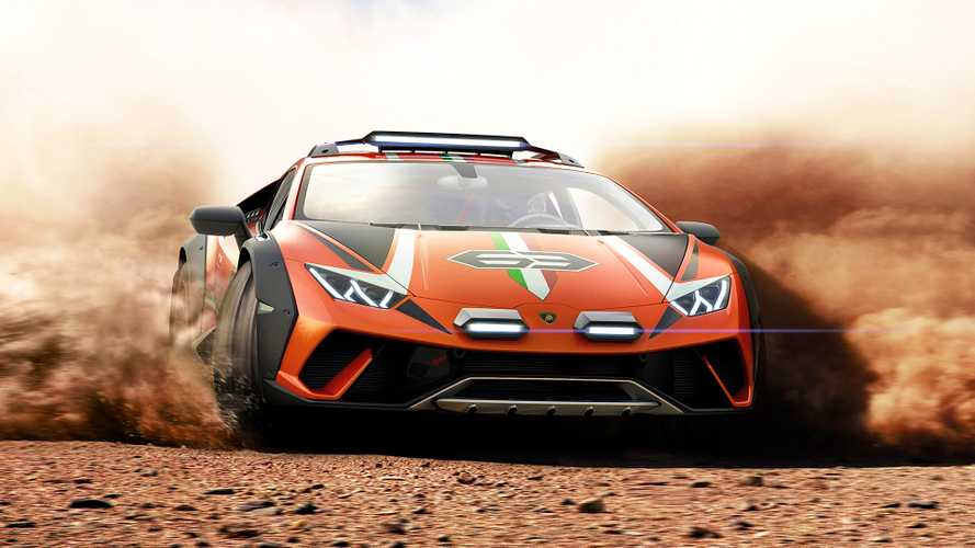 Off-Road Lamborghini Huracán Sterrato Is A One-Off Supercar Concept