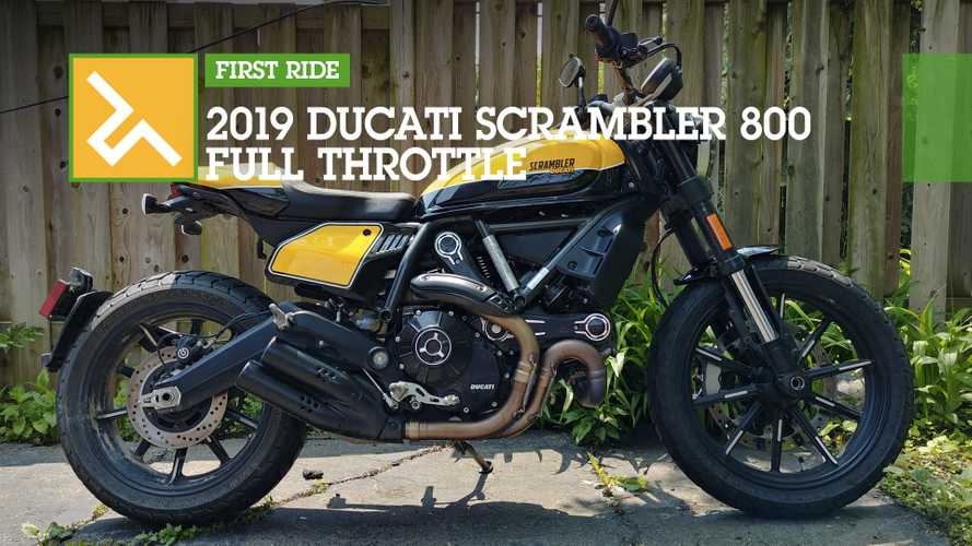 First Ride: 2019 Ducati Scrambler Full Throttle