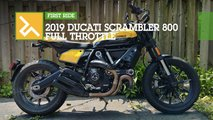 review 2019 ducati scrambler full throttle