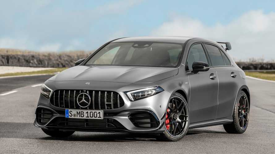 New Mercedes-AMG A45 S goes on sale with prices starting at £50,570