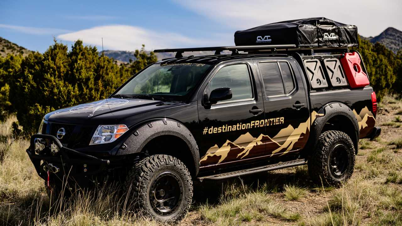 Nissan Destination Frontier Seeks Inexpensive Camping