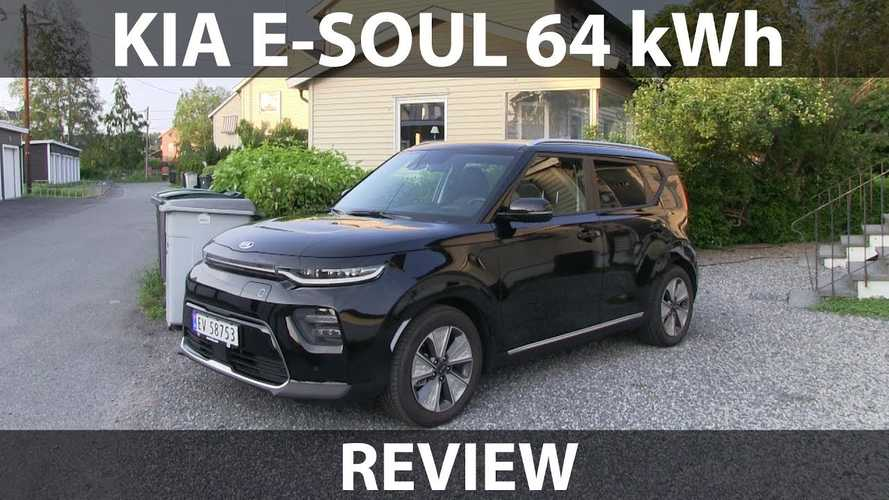 Kia Soul EV (e-Soul) Review By Bjørn Nyland: Video
