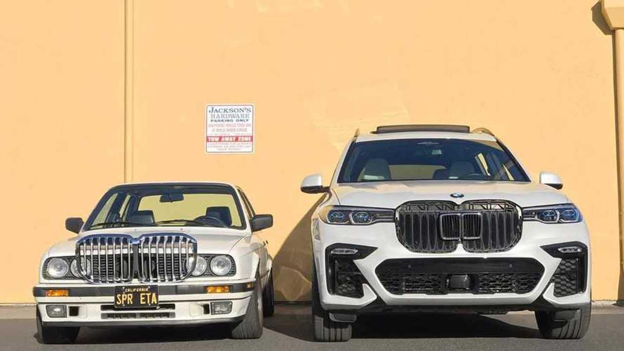 BMW E30 vs. BMW X7