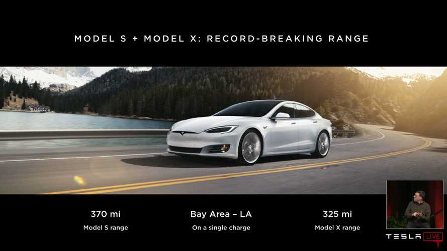 2019 Tesla Model S EPA Ratings Compared: SR, LR & Performance