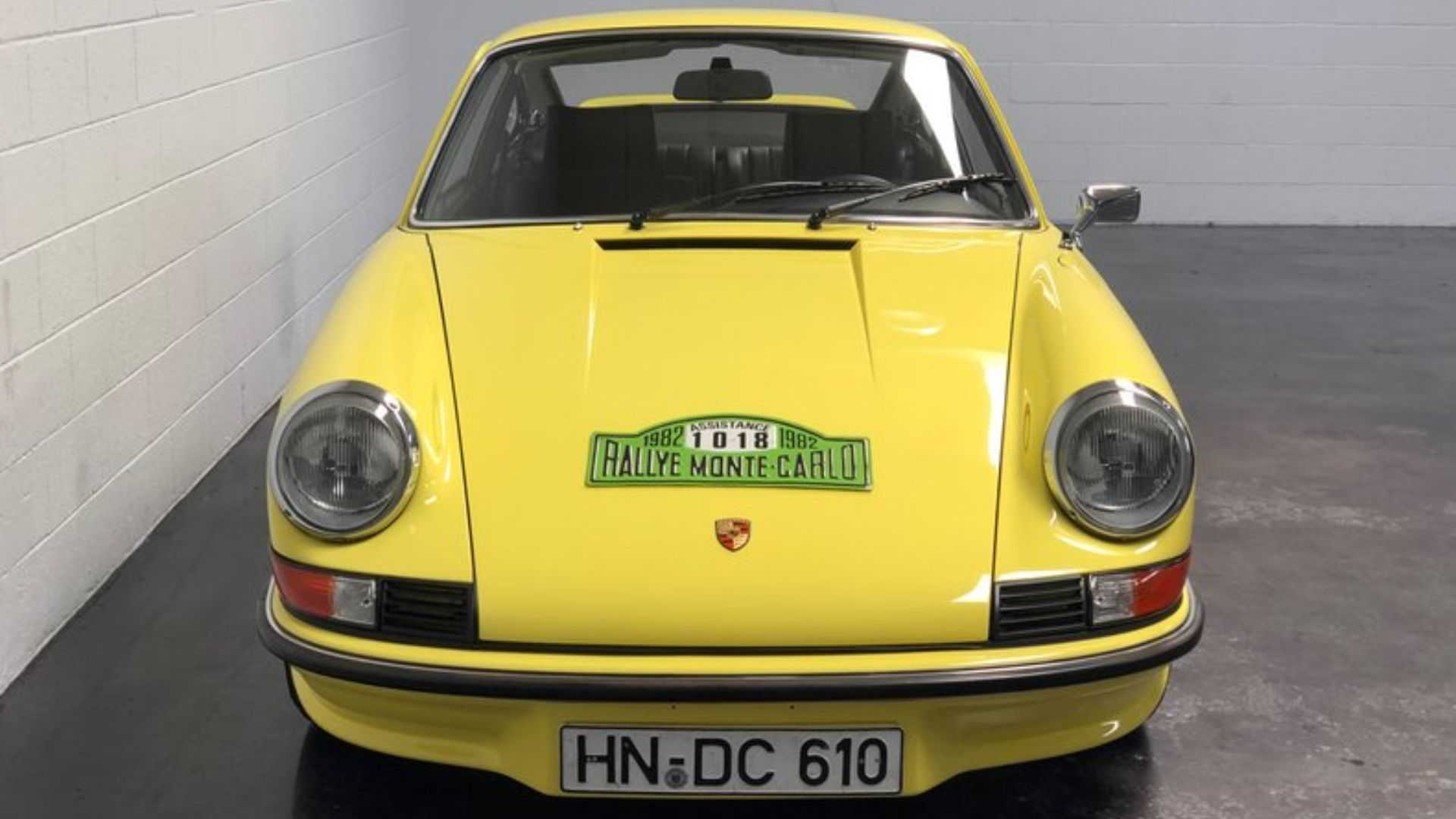 "[""1973 Porsche 911 Carrera RS Has Motorsports Connections""]"
