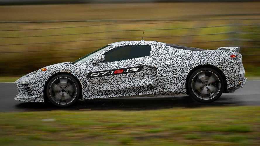 Neue Corvette C8 mit Mittelmotor enthüllt: Sehen Sie sich das Video an
