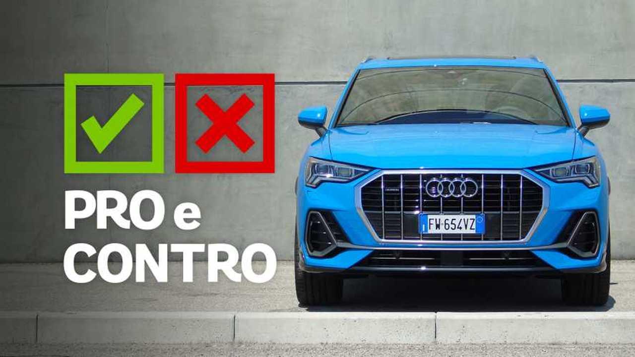 Audi Q3 40 TDI quattro S tronic S line edition, pro e contro