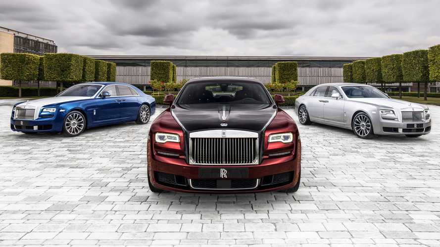 Rolls-Royce Bids Adieu To Current Ghost With Zenith Collection