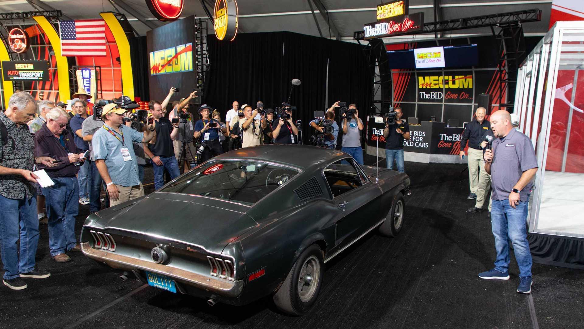 "[""Mecum Reveals Bullitt Mustang Hero Car To Be Auctioned In 2020""]"