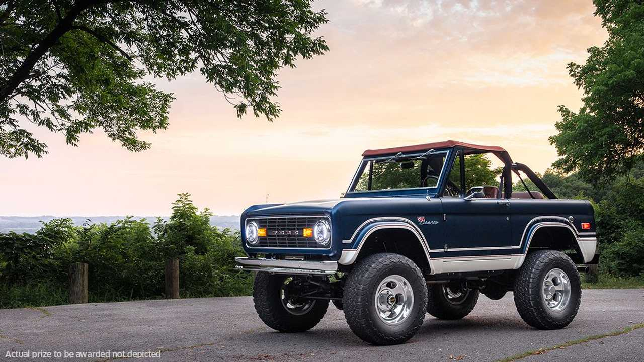 Omaze Partners With Gateway Bronco To Offer One-of-a-Kind Car
