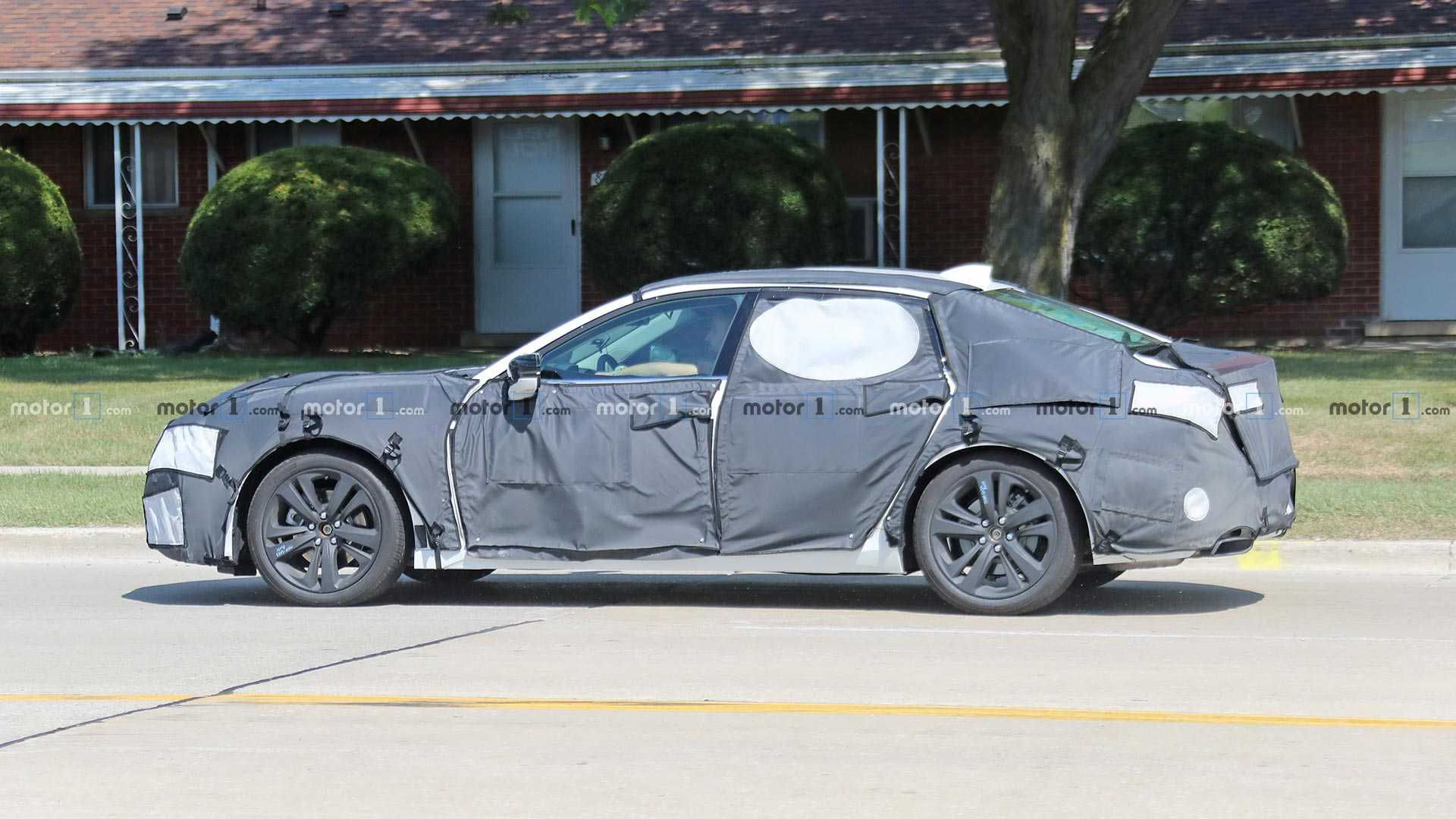 2021 Acura Tlx Spied With Influences From Gorgeous Type S