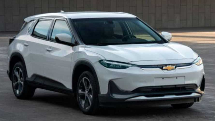 Chevy Bolt EUV Revealed As Chevrolet Menlo EV In China