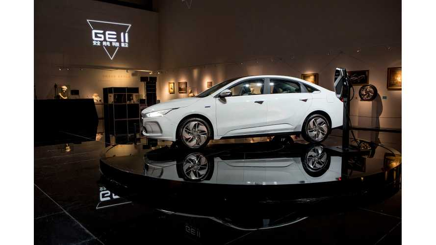 Geely's Plug-In EV Car Sales Exceed 100,000 So Far This Year