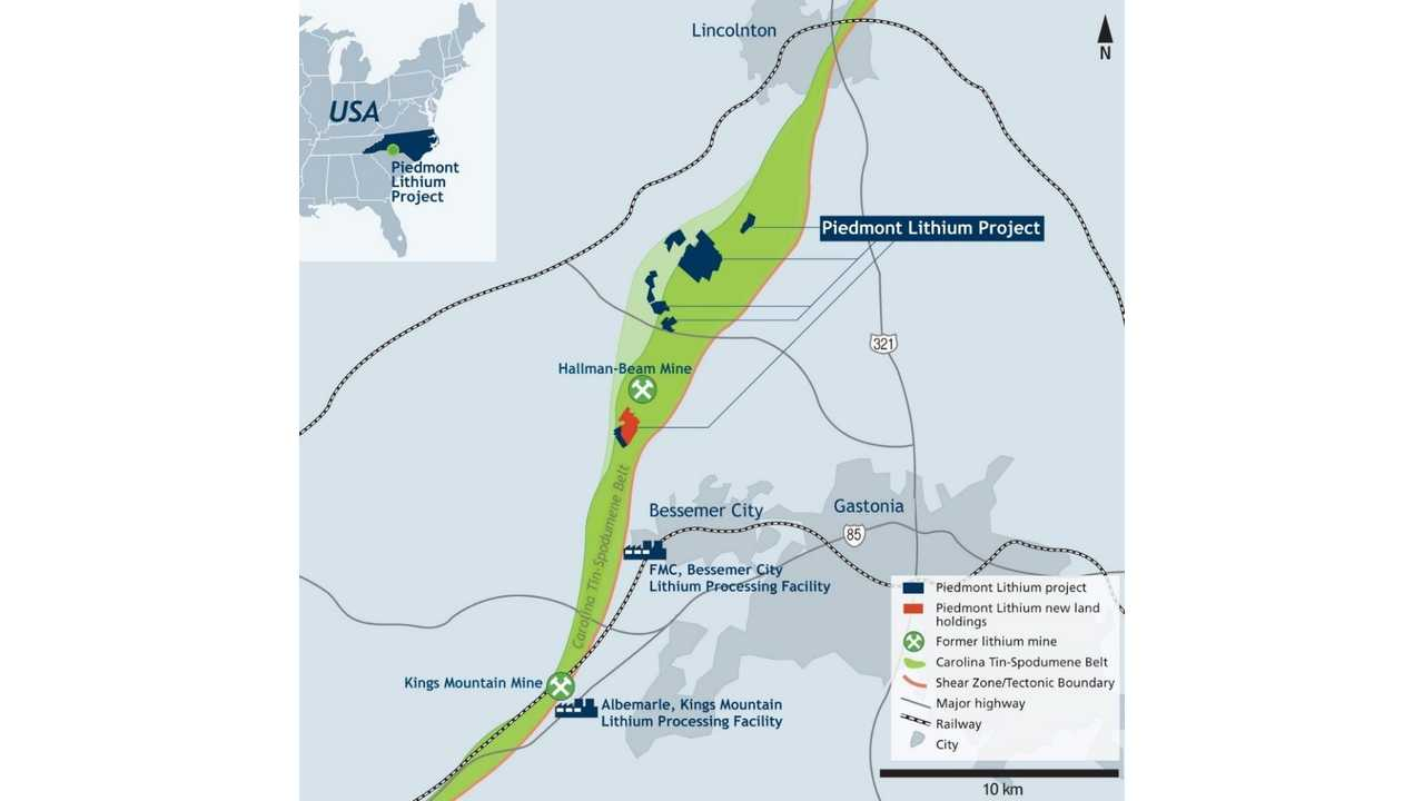 Lithium Mine To Open In North Carolina: Only One Of Its Type In U.S.