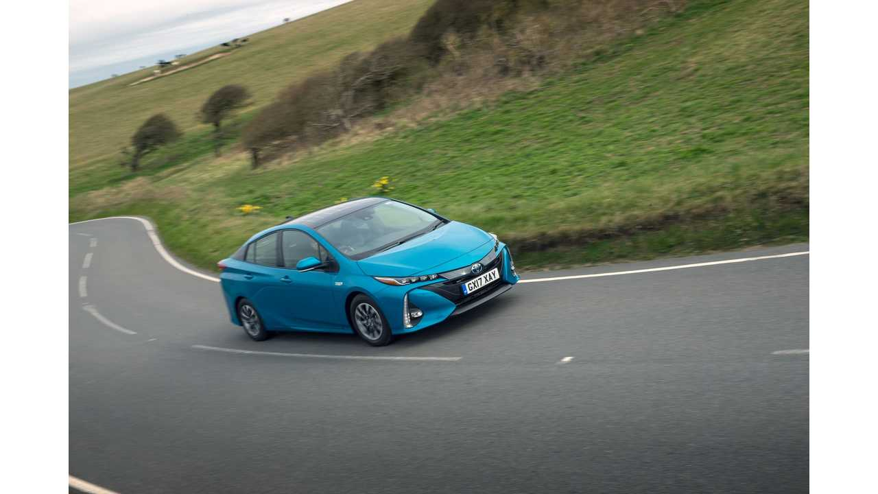 Over 50% Of Toyota Sales In Europe Are Hybrids: PHEVs Not Even 1%