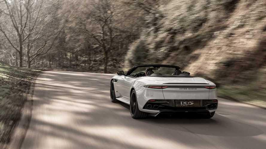 Aston Martin DBS Superleggera Volante 2019