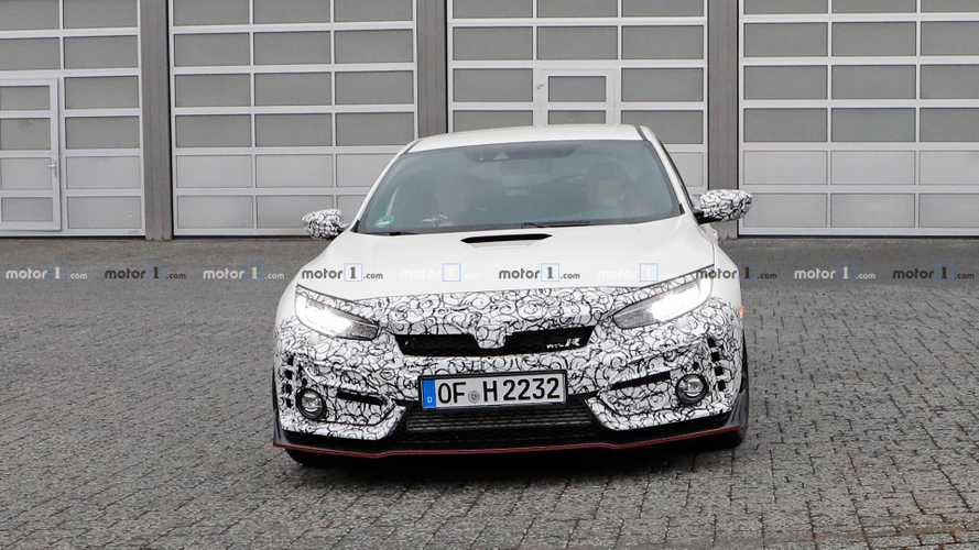 Honda Civic Type R Test Mules Spy Shots