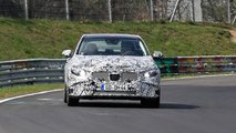 Mercedes-Benz C-Class Saloon spy shots