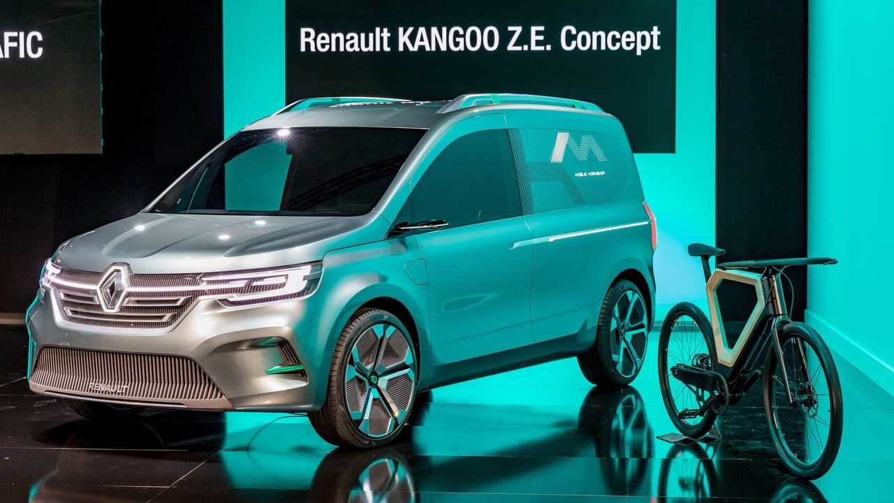 Renault Presents New Electric Kangoo Z E Concept Van