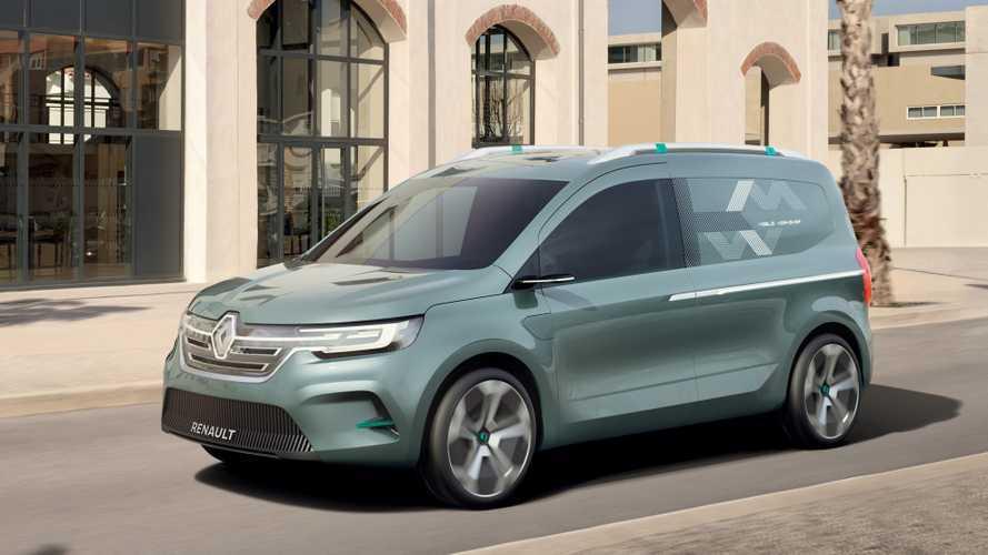 Renault - Un concept du nouveau Kangoo et des utilitaires restylés