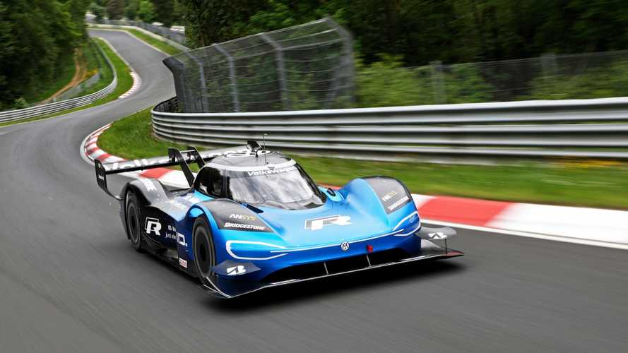 Volkswagen I.D. R At The Nürburgring Used More Than 1 kWh/km