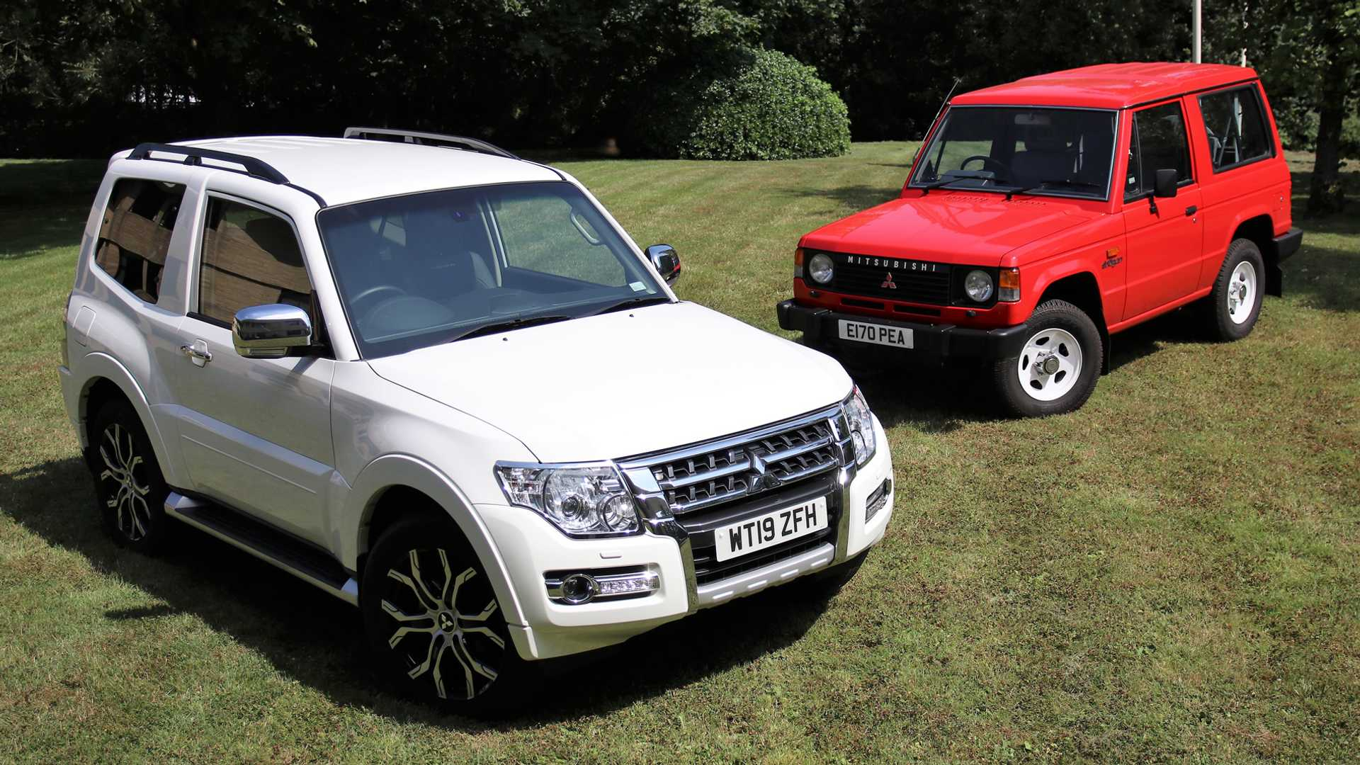This is the last Mitsubishi Shogun to be registered in the UK
