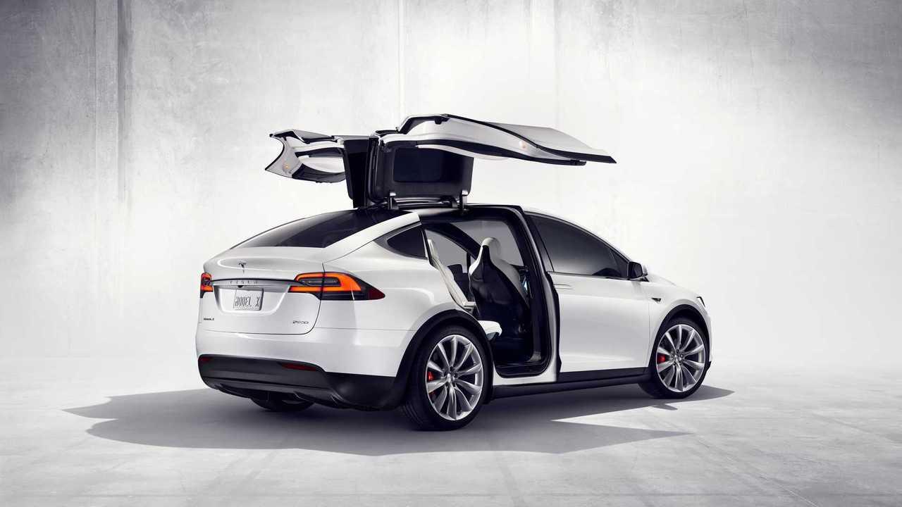 2. Tesla Model X