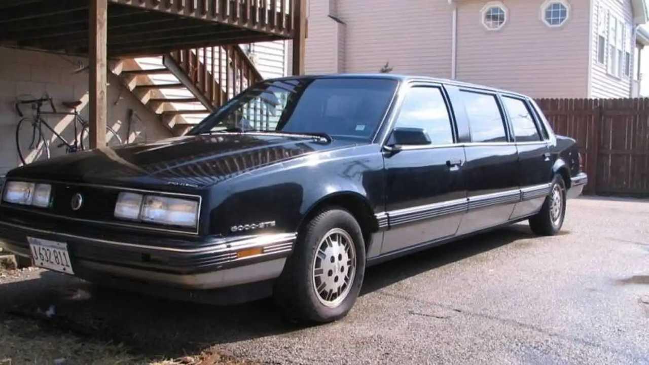 1986 Pontiac 6000 STE Limo